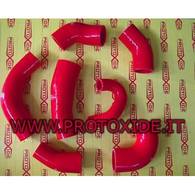 Sleeves specific GrandePunto Fiat 1.4 16v T-Jet Red Specific sleeves for cars