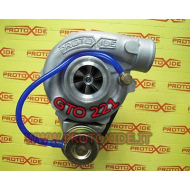 Turbocharger gto221 op dubbele bal voor 1400 16v Abarth Turbochargers op race lagers