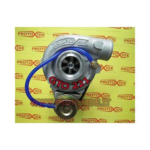Turbocompressore gto221 su doppi cuscinetti per 1.400 16v Abarth Turbocompressori su cuscinetti da competizione