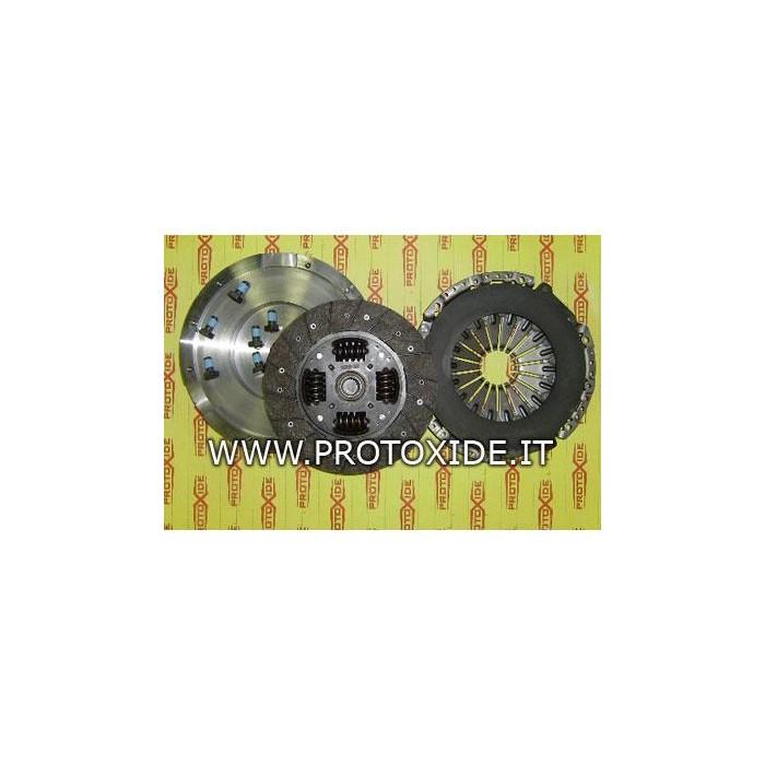 Single-mass flywheel kit reinforced Peugeot 407/2000HDI Steel flywheel kit complete with reinforced clutch