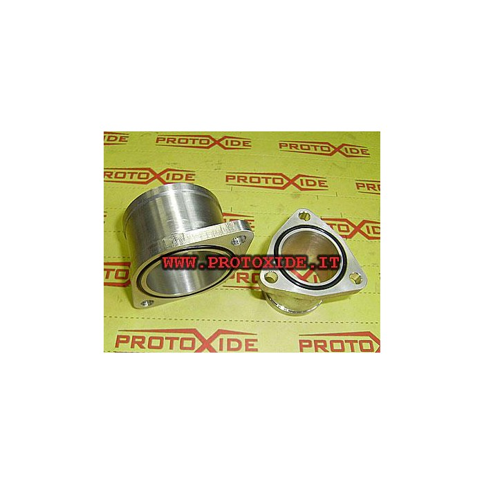 Aluminum cones for turbocharger Garrett GT25-28 Oil pipes and fittings for turbochargers