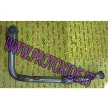 Alfa Mito yonca veya Grande Punto EVO 1.4 veya 60mm SS Kit için iniş borusu Egzoz Downpipe for gasoline engine turbo