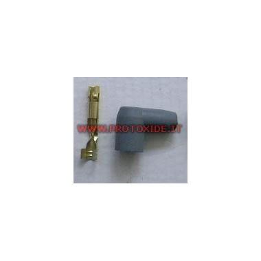Capucha y terminal macho de 90 ° Candle cable y bricolaje terminales