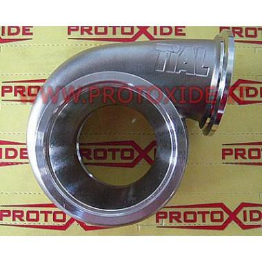 Chiocciola di scarico Turbocompressore Tial Sport GT35 - GTX35 acciaio Inox attacco V-band Chiocciole scarico turbo speciali
