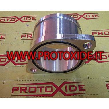 Adaptor con cu 2 orificii pentru turbocompresoare GT2560/GT28 Țevi de ulei și accesorii pentru turbocompresoare