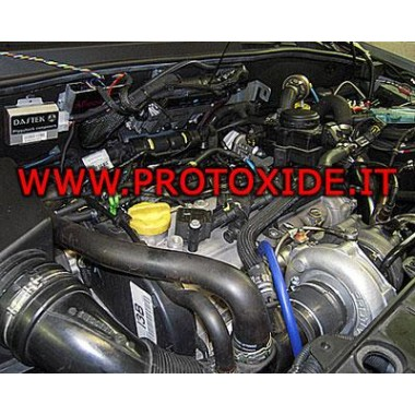 Kit ενίσχυση GrandePunto T-Jet 120 hp 1.4 16V 70hp + Ισχύς του κινητήρα Kit