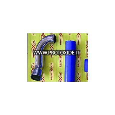 Manicotto corto acciaio inox per Fiat Punto GT Manicotti specifici per auto