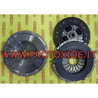 Kit Volano acciaio monomassa rinforzata AUDI A4, BKD Kit volano acciaio completi di frizione rinforzata