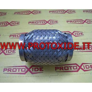 Flexibele uitlaat voor uitlaatpijp maat 54mm Flexibele demper
