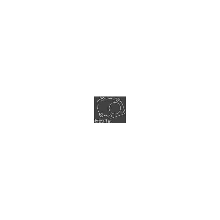 Flangia di scarico per Turbo Garrett GT28 Flange per Turbo, Downpipe e Wastegate