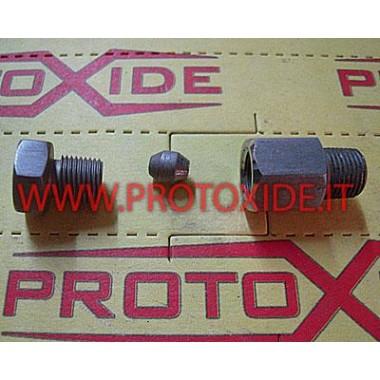 fermasonda Edelstahlnippel für Thermoelement Sensoren, Thermoelemente, Lambdasonden