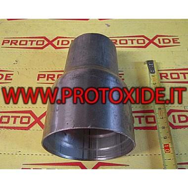 Reduceret stålrør 70-50 Lige reducerede rør af rustfrit stål
