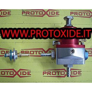 Regolatore pressione benzina HIGH FLOW con raccordo flauto Fuel pressure regulators