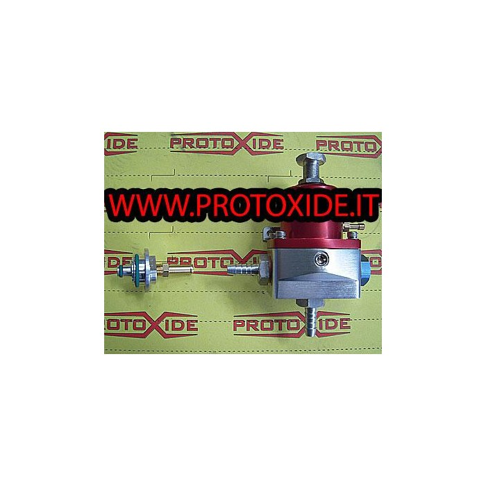 Regolatore pressione benzina iniezione HIGH FLOW con raccordo flauto Regolatori Pressione Benzina