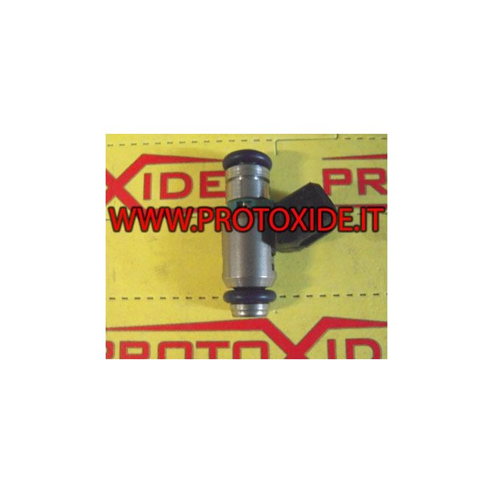 Short high impedance injectors 460 cc Injectors according to the flow