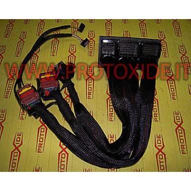 Extensão Minicooper S R56 ou Peugeot 1.6 turbo THP Conectores da unidade de controle e cabeamento da unidade de controle