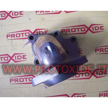 Downpipe Uitlaat Renault 5 GT - T28 externe wastegate Downpipe for gasoline engine turbo