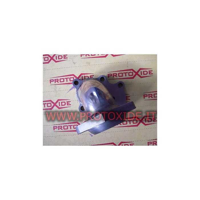 Downpipe Exhaust Renault 5 GT - T28 external wastegate Downpipe for gasoline engine turbo