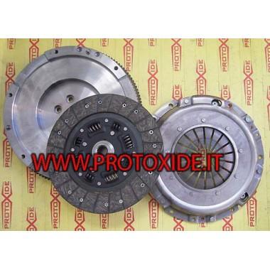 Kit Volano acciaio monomassa con frizione rinforzata Citroen C6 Peugeot 206 1.6 hdi 110hp Kit volano acciaio completi di friz...