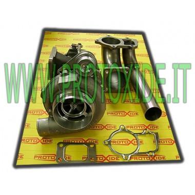 Turbocompressore Garrett GT30 su CUSCINETTI con wastegate int-esterna