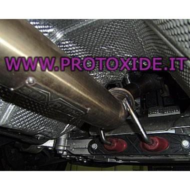 Downpipe scarico libero maggiorato Audi S3 GOLF TT TFSI 2.000 Downpipe per motori turbo a benzina