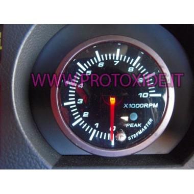 Tacómetro con memoria de 60 mm 10.000 rpm Tacómetro del motor y luces de cambio