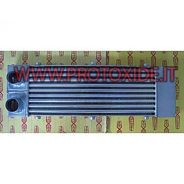 Intercooler installeret foran til Peugeot 207 aluminium Air-air intercooler