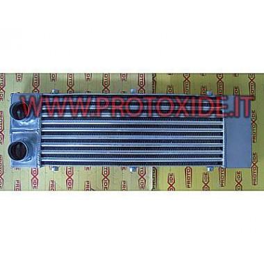 Интеркулера инсталирана предна за Peugeot 207 алуминий Въздушен въздух междинен охладител