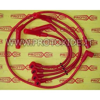 Cables de bujía de alta conductividad para Fiat Uno Turbo 1,400 Cables de vela específicos para automóviles