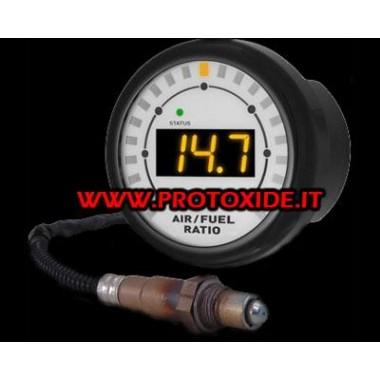 AirFuel di precisione per carburazione stechiometrico con sonda wideband 52mm Afr rotondo con software Carburazione Airfuel S...