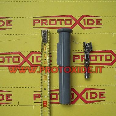 Enchufe vela recta con terminal Candle cable y bricolaje terminales