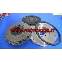 Steel flywheel kit complete with reinforced clutch