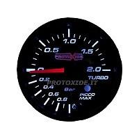Spiediena mērinstrumenti Turbo, benzīns, eļļa