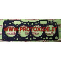 Reinforced multilayer metal head gaskets