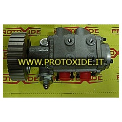 Mechanical and electric oil pumps