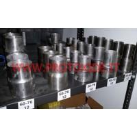 Rovné redukované potrubí z nerezové oceli