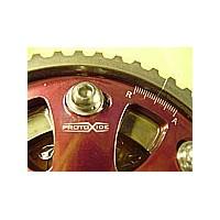 Justerbare motorskiver og kompressorhjul