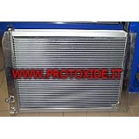 Verhoogde water radiatoren
