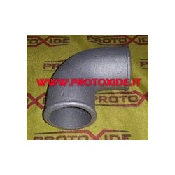 Aluminum elbow pipes