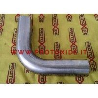 Stainless steel elbow pipes