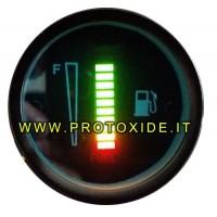 Niveles de combustible y otros líquidos