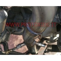Downpipe per motori Turbo Diesel e tubi elimina FAP