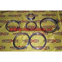 Pinzas y anillos V-Band